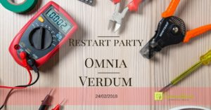 Restart party Omnia Verdum